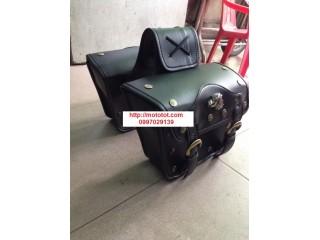 Túi da treo 2 bên hông mô tô