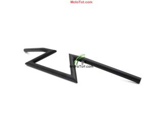 Ghi đông - Tay lái chữ  Z gắn Bobber chopper keystone handlebar